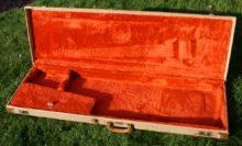 Rare 1982 Fender Jazz or Precision Tweed Bass Case / Duck Foot / Fullerton Factory