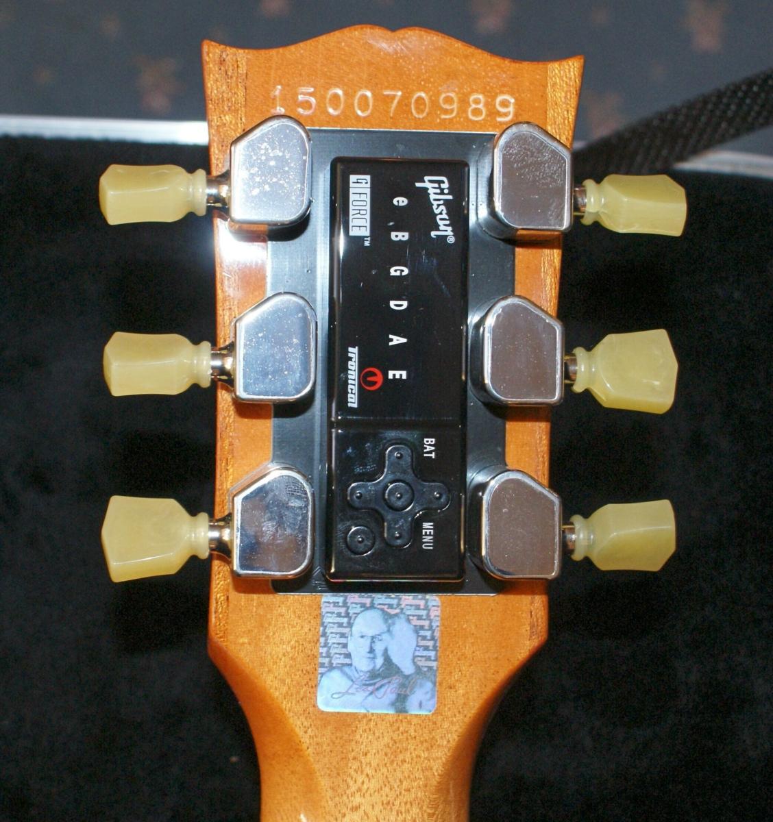 Mint Condition 2015 Gibson Les Paul Classic In Seafoam Green Ohc Plus Electric Guitar Vintage Sunburst The