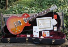 Stunning 2002 Gibson Les Paul Custom Shop Historic R0 1960 Reissue, Music Machine 25th Anniversary, Limited Edition #14 of 24 Worldwide