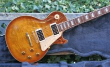 Very Desirable 1997 Jimmy Page 'Signature' Les Paul Standard & Case, Honey Burst.