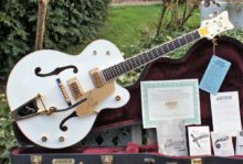 Pristine & Beautiful 2010 Gretsch White Falcon G6136T & OHC