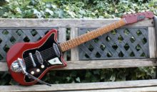 Rare 1963 Burns Sonic 6 Guitar, Excellent Condition, Fully working & All Original.