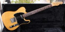 Superb Vintage 1977 Natural Ash USA Fender Telecaster With Rosewood Fingerboard & Case