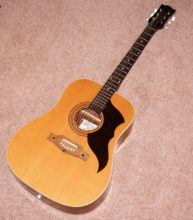 Pristine Condition c1970s Eko Ranger 6 Acoustic Guitar