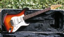 Fabulous 1992 G&L Legacy Guitar in 3 Tone Sunburst Finish and Original G&L Case