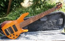 Beautiful Custom Ordered Overwater Fusion 6 String Bass Guitar & Case