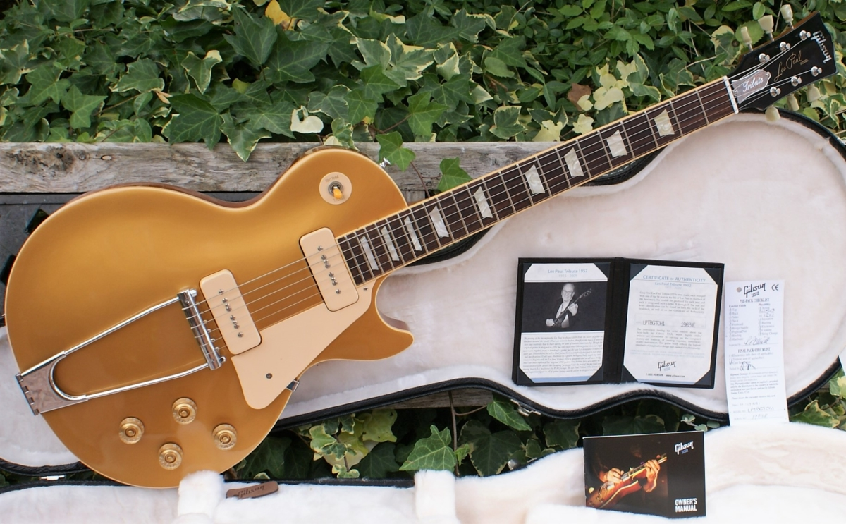 6cf510102c19a Immaculate 2009 Gibson Les Paul Goldtop Tribute Prototype 1952 ...