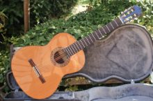As New Alhambra Classical Guitar Model 5P Solid Cedar Top & Hard Case