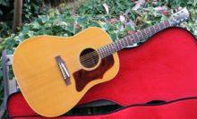 Stunning 1968 Gibson J-50 ADJ Natural Acoustic Guitar With Original Case