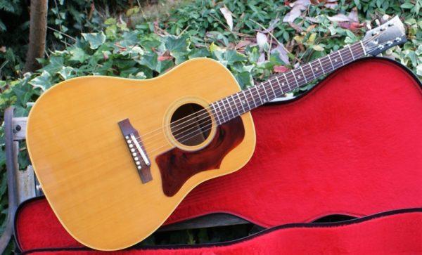 Stunning 1968 Gibson J 50 ADJ Natural Acoustic Guitar With Original