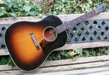 Pristine & Beautiful 2017 Gibson J-35 Custom Shop Vintage Collector Ltd Edition Jumbo Acoustic in Vintage Sunburst & OHC