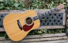 Truly Beautiful 1999 Martin D-45 Dreadnought Acoustic Guitar & OHC Inc Fishman Acoustic Pocket Blender System