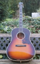 Breathtaking 1995 Master Luthier Built Gibson Advanced Jumbo Acoustic, Custom Order Special, Tri-Burst Finish & OHC