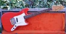 Lovely 1967 (1st Year of Production) All Original Fender Bronco In Fiesta Red, with OHC
