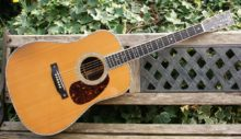 Stunning Limited Run 2005 C.F. Martin D-42 Dreadnought Acoustic Guitar & Case.