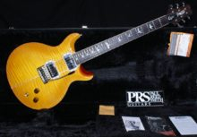 Stunning 2018 PRS Santana Retro in McCarty Sunburst (Santana Yellow) Inc OHC & All Candy