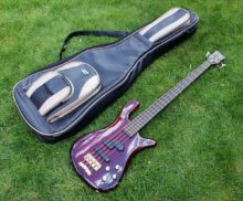 Lovely 1998 Warwick Streamer LX with Wenge Neck Made in Germany
