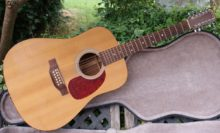 1997 Martin D12-1, Twelve String Acoustic Guitar - Solid Spruce/Mahogany with Hardshell Case & Pickup
