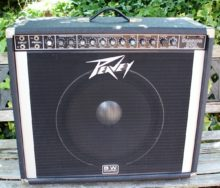 Early 80's Peavey Session 500 Mark IV Series 250-Watt 1x15 Guitar Combo