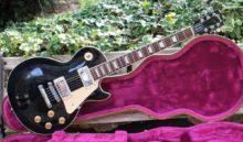 Beautiful 1998 Gibson Les Paul Standard in Ebony with OHC