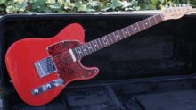 Excellent 2008 USA Highway One Fender Telecaster in Rare Red Finish with Rosewood Fingerboard & Plush Hard Case