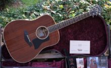 2013 Taylor 520e 1st Edition All-Mahogany Dreadnought Electro-Acoustic Guitar 52/100 & Case