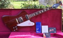 2014 Mint Condition 120th Anniversary Gibson Firebird In Heritage Cherry W. OHSC & Candy