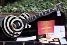 Totally Mint Condition 2007 Gibson Zakk Wilde Custom Les Paul Bullseye & OHC
