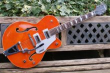 Beautiful Mint Condition Gretsch G5420T 2016 Electromatic Hollow Body with Bigsby, Orange Stain