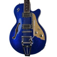 Beautiful New Duesenberg Starplayer TV Blue Sparkle