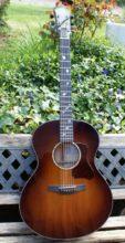 Gorgeous Patrick James Eggle Saluda Custom Small Bodied Jumbo Acoustic Sunburst & OHC