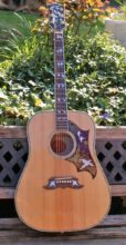 Stunning, Mint Condition Limited Edition 2015 Gibson Doves in Flight Dreadnought Acoustic w/Original Case & COA