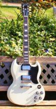 Stunning 2013 Gibson SG 61 Reissue, Vintage White & Original Case