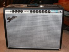 As New Fender '68 Custom Twin Reverb Silverface Combo Amp & Cover