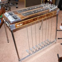 1974 Sho-Bud Pro ll D10 Pedal Steel Guitar, 8 x Pedals, 3 x Knee Levers, Inc Accessory Pack, Instruction Books & Flight Case