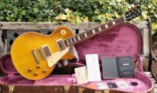 Mint Condition 2018 Gibson Custom Shop VOS Historic '58 Les Paul Standard R8~Honey Lemon Fade Inc Case & All Candy