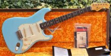 As New 2019 Fender Custom Shop '59 Ltd Reissue Stratocaster Journeyman Relic, Daphne Blue