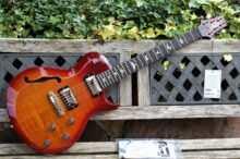 Unplayed & Beautiful 2015 USA PRS S2 (SC250) Singlecut Semi Hollow Bodied Guitar