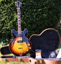 Pristine 2017 Gibson Memphis ES-330 In Sunset Burst & OHSC