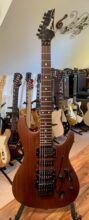 Rare 2000 MIJ Ibanez Sabre, S570 In Mahogany Oil, Wizard Neck, w/Gig Bag,