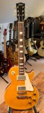2020 Tokai Love Rock LS-136F LD Vintage Series Japan, Lemon Drop, Upgraded W/Bare Knuckle Nail Bomb Pickups & Ltd Edition Case