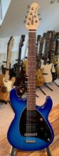 2020 Ernie Ball Music Man Steve Morse Signature Blue Burst, w/Case & All Candy