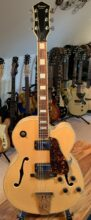 Lovely 1970s / Early 80s Antoria H794 Jazzstar (Gibson L5) Natural & Hard Case