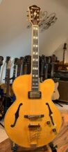 Pristine 2017 Ibanez PM2 AA - Antique Amber- Pat Metheny Signature Semi Acoustic & OHC