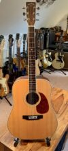 Lovely Early 80's Martin/Sigma SDR-35 Dreadnought Acoustic Guitar