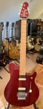 Truly Superb 90's Music Man Axis EX In Solid CRD (Cherry Red) With Original Gig Bag