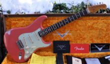 As New 2020 Fender Custom Shop '60 Ltd Reissue Stratocaster Relic' Tahitian Coral