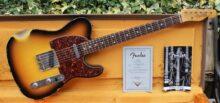 Rare 2007 Fender Custom Shop Musikmesse Edition 60s Telecaster Faded 3 Tone Sunburst Heavy Relic