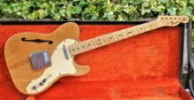 Gorgeous 1968 first Year of Production All Original Fender Telecaster Thinline In Natural Finish, with LOA & OHSC