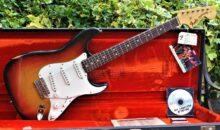 Beautiful, 1971 Fender Stratocaster, 3 Tone Sunburst, 4 Bolt Neck w/Original Case, Booklet & Hang Tags
